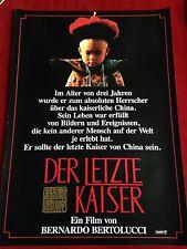 Der letzte Kaiser Kinoplakat Poster A1,  Bernardo Bertolucci, Peter O'Toole