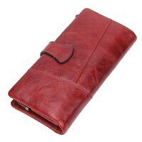 Women Wallet Luxury Brand Genuine Leather Long Female Clutch Wallet Ladies Purse