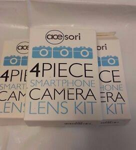 Acesori A-ILK Smartphone Camera 4-Piece Kit (Lot of 3)