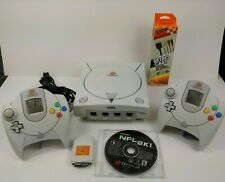 🔥 Sega Dreamcast Console System w/ 2 OEM Controllers Game & Memory Card 🎮