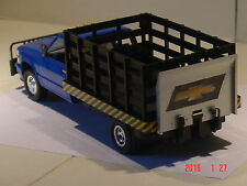 Blue Chevy Parts Truck 1/25
