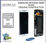 Ecran LCD Original Samsung S6 Edge G925F Blanc