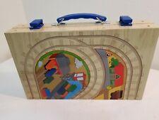 Wooden Box Train Set