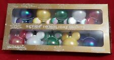 New Disney Parks 10 Multi Color Mickey Icon Ears Christmas Holiday String Lights