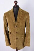 Hackett London Classic Cord Blazer Jacket Size L / UK42 / EU52 / IT52