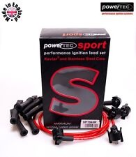 PowerTEC Sport 8mm Ignition HT Lead Cable Wires Ford Scorpio 2.9 v6 24v Cosworth