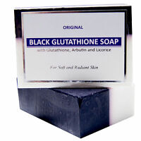 New Glutathione /Arbutin/Licorice Black&White Soap 120g Whitening&Bleaching Soap