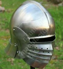 Medieval Bellows Face Helmet crusader Helmet Reenactment Replicas Christmas Gift