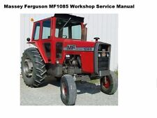MASSEY FERGUSON MF1085 TRACTOR WORKSHOP SERVICE MANUAL 290pgs for MF 1085 Repair
