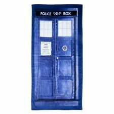 Doctor Who The Dr Tardis Beach Towel Collectible Pop Culture Gift