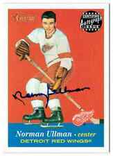 2001-02 TOPPS HERITAGE AUTOGRAPH NORMAN ULLMAN AUTO DETROIT RED WINGS #A-NU