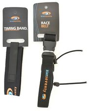 blueseventy Timing Chip Strap Band + Race Number Belt Triathlon Ironman Rfid Tri