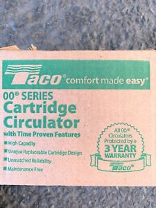 BRAND New in Box TACO 007-F5-7IFC CARTRIDGE CIRCULATOR PUMP 1/25 HP, IFC!!