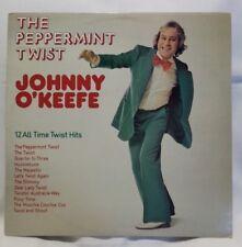 JOHNNY O'KEEFE - vintage vinyl LP -  The Peppermint Twist