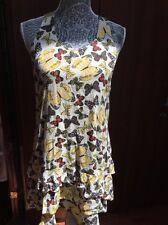 Jessica Simpson summer Butterfly print Dress Sz XS