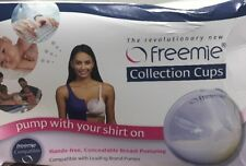 Freemie Collection Cups The Only Hands Free Concealable Breast Pump System Used