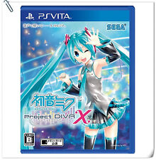PSV Hatsune Miku Project DIVA X ENG / 初音未來 中文 / 日文 SONY VITA Sega Music Game