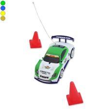Mini voiture télécommandée rangement canette radiocmmandé RC doré
