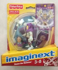NIB Fisher Price Imaginext Battle Arena Bones the Skeleton Toy Figure