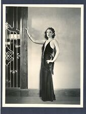 SEXY RUTH HALL - NEAR MINT 1930s PHOTO - MARX BROTHERS + JOHN WAYNE CO-STAR
