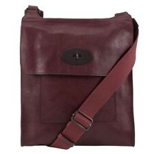 Mulberry Leather Messenger/Shoulder Bags for Men