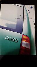 Depliant Brochure  VW POLO VARIANT  - 1998 -  pagine 16  Ottime condizioni