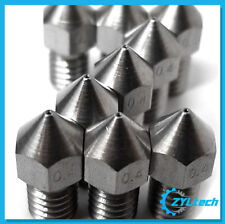 Zyltech 3x Stainless Steel 3D Printer MK8-Style Nozzle 1.75mm 0.5mm