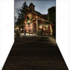 Christmas 10'x20' Computer-painted (CP)Scenic Vinyl Background Backdrop BHF679