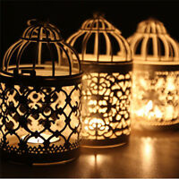 Metal Moroccan Birdcage Dedicate Candle Holder Hanging Lantern Wedding Decor Hot
