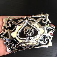 Belt Buckle SILVER MEN WOMEN STATES BUCKLE Silver  BUCKLES