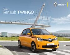 2020 MY Renault Twingo 04 / 2019 catalogue brochure German Austria Autriche
