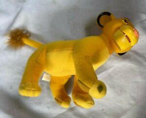 Simba Cub Vinyl Head Plush Applause Disney Lion King Movie Doll vintage