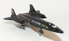 Die Cast US Air Force SR-71 Blackbird with Retractable landing gear