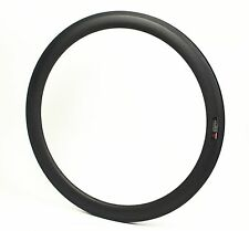 700C 28mm wide  Cycle Cross 47mm depth bike carbon Rim Tubeless compatible