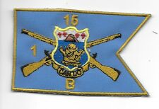 15th Infantry Regt pocket patch B Co 1st BN UNIQUE Custom Made Audie Murphy