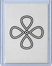 "RARE 2011 ALLEN & GINTER CODE PUZZLE CIPHER CARD #NNO ~ "" M "" VERSION ~ L@@K!!!"