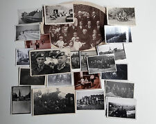 Old Photos Lot of 24 WW2 Photos  Soldiers Germany Netherlands Original