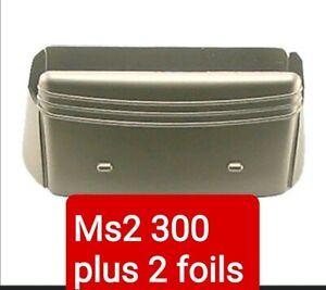 Remington ms2 Foil and Frame for Select MS2 300 (gold frame)& 2 new foils