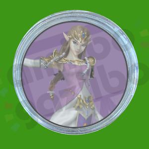Zelda Super Smash Bros   Breath of the Wild   Amiibo COIN for Switch, Wii U, 3DS