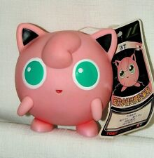 "POKEMON, NEW WITH TAG, JIGGLYPUFF  4"" PLASTIC FIGURE, AULDEY - TOMY"