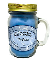 The Beach Scented Candle in 13 oz Mason Jar by Our Own Candle Company