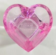 Purina FANCY FEAST Cat Bowl Pink Heart Small Food Dish LIMITED EDITION