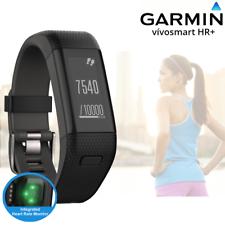 Garmin Vivosmart HR+ GPS Activity Tracker - Integrated HRM -Black - XL (A)