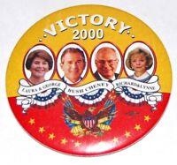 2001 GEORGE W. BUSH INAUGURATION campaign pin pinback button political president