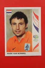 PANINI FIFA WORLD CUP GERMANY 2006 06 N. 237 NEDERLAND VAN BOMMEL  MINT!!!