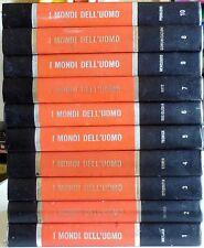 10 volumi ENCICLOPEDIA COMPLETA mondi dell'uomo FILOSOFIA RELIGIONE MORALE 1974