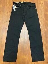 NEW Polo Ralph Lauren Mens Classic 867 Zipper Fly Black Denim Jeans Size 32 x 32