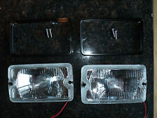 Peugeot 205 GTI driving lights lamps NEW CLEAR Mi16 DIMMA fog d turbo Griffe GT