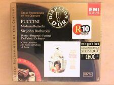 RARE COFFRET 2 CD / PUCCINI MADAMA BUTTERFLY / SCOTTO, BERGONZI, JOHN BARBIROLLI