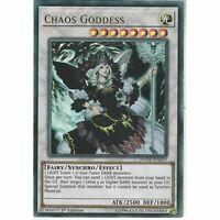 DUOV-EN079 Chaos Goddess | 1st Edition | Ultra Rare YuGiOh Trading Card Game TCG